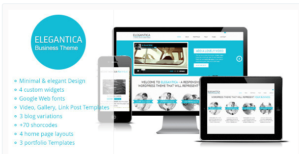 Elegantica WordPress theme