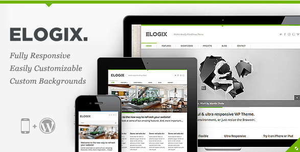 Elogix WordPress Theme