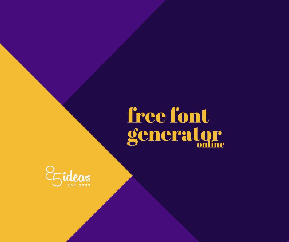 Typography Generator