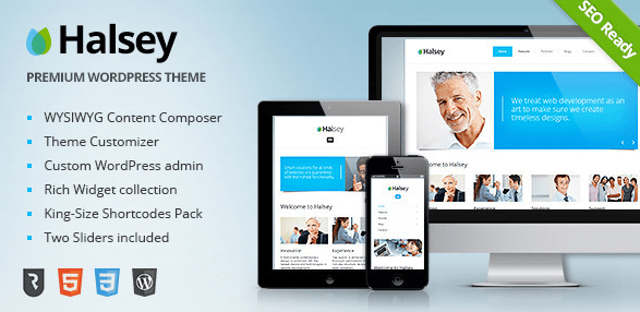Halsey WordPress Theme