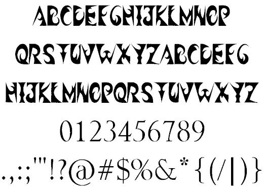 Free Smoke Fonts