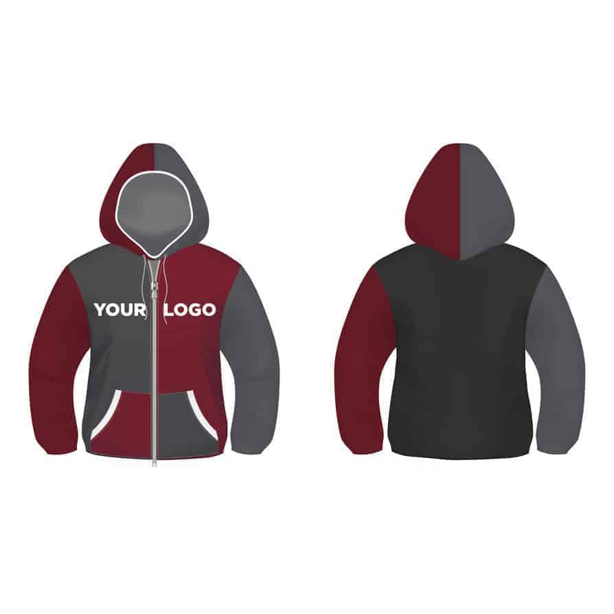 Hoodie Design Vector Illustrator Template