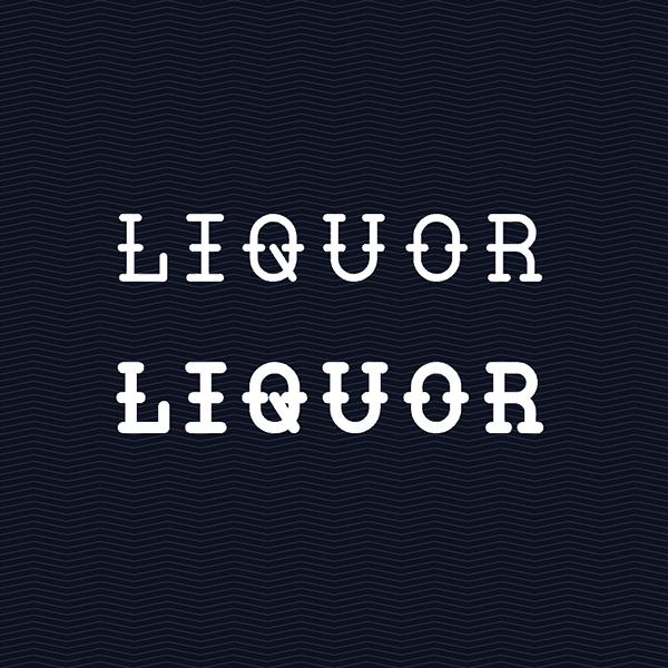 Liquor Typeface