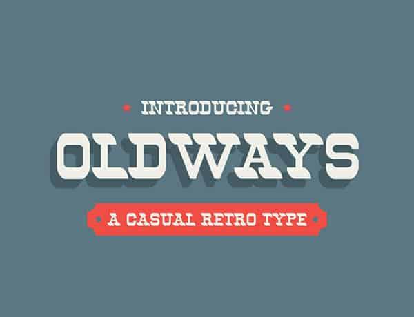 Oldways font