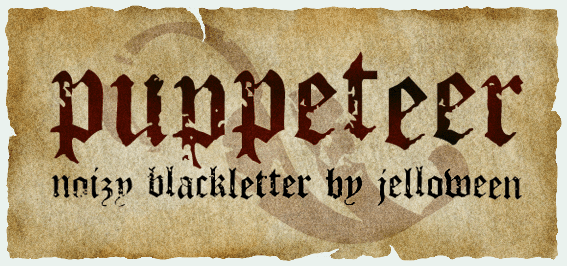 PUPPETEER free font