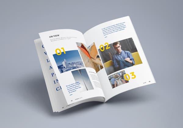 Photorealistic Magazine MockUp 3