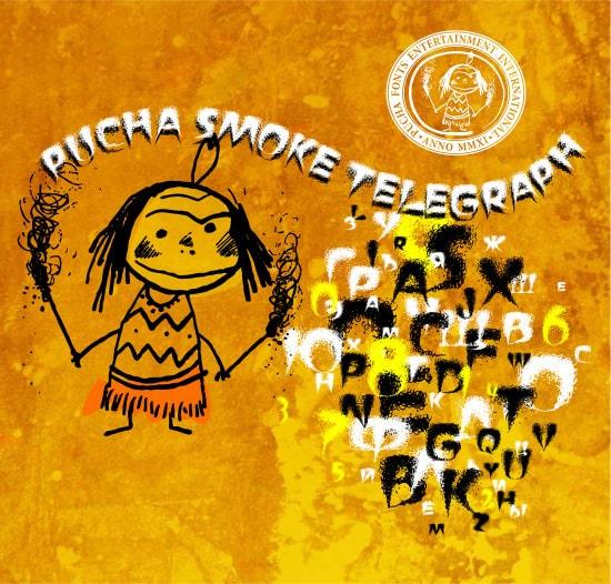 smoke fonts