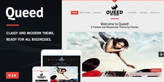 Queed WordPress Theme