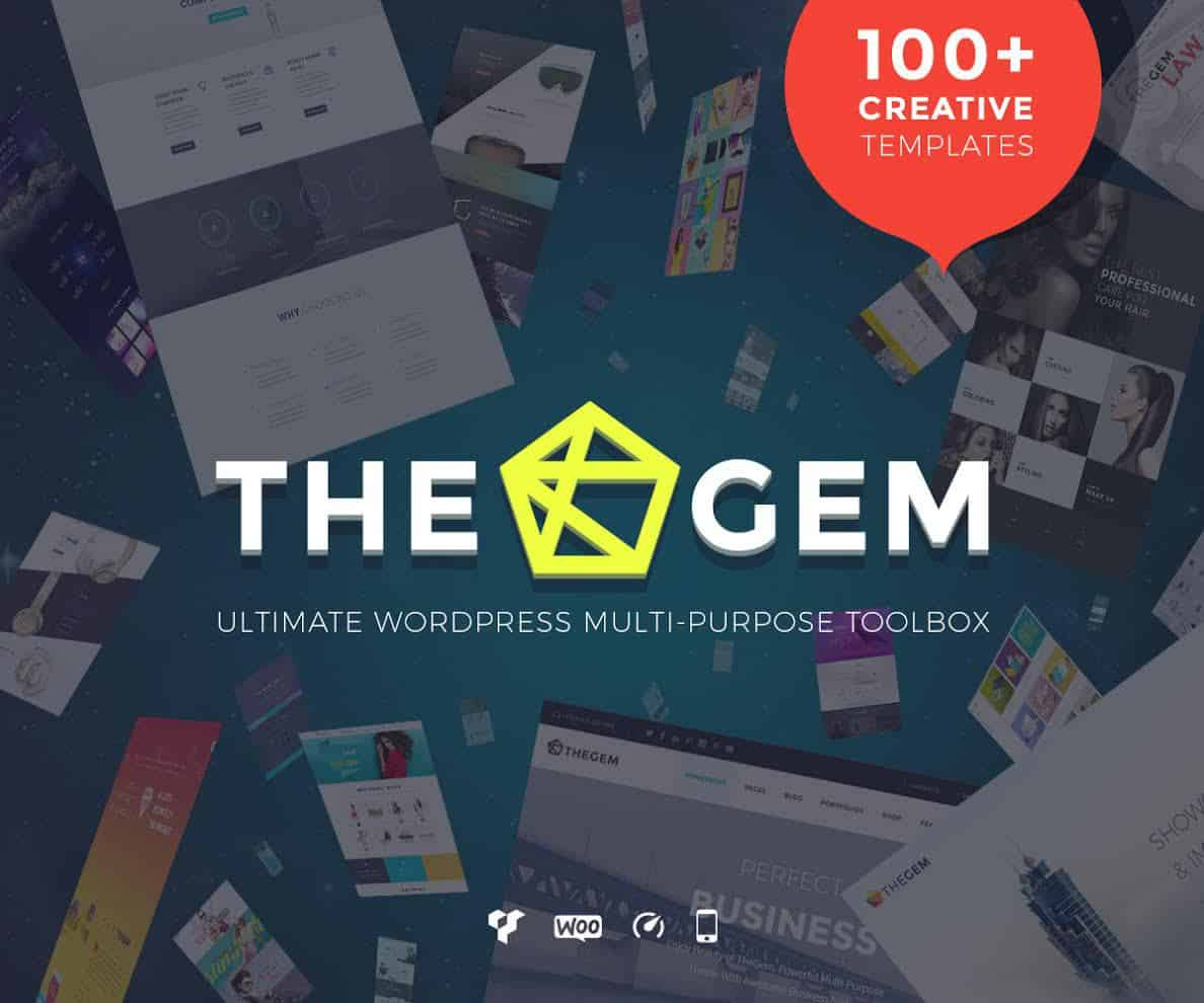 the gem-customized wordpress-theme