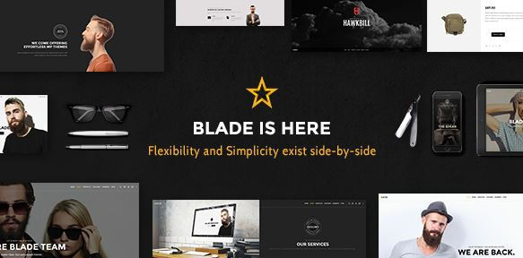 Blade Responsive WordPress Theme