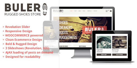 Buler WordPress Theme