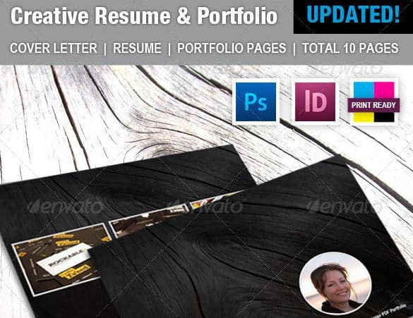 Creative Resume Template Envato