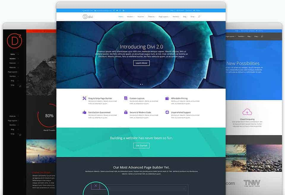 Divi Responsive WordPress Theme