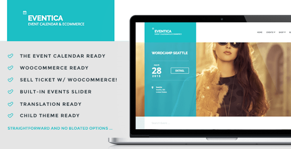 Eventica WordPress Theme