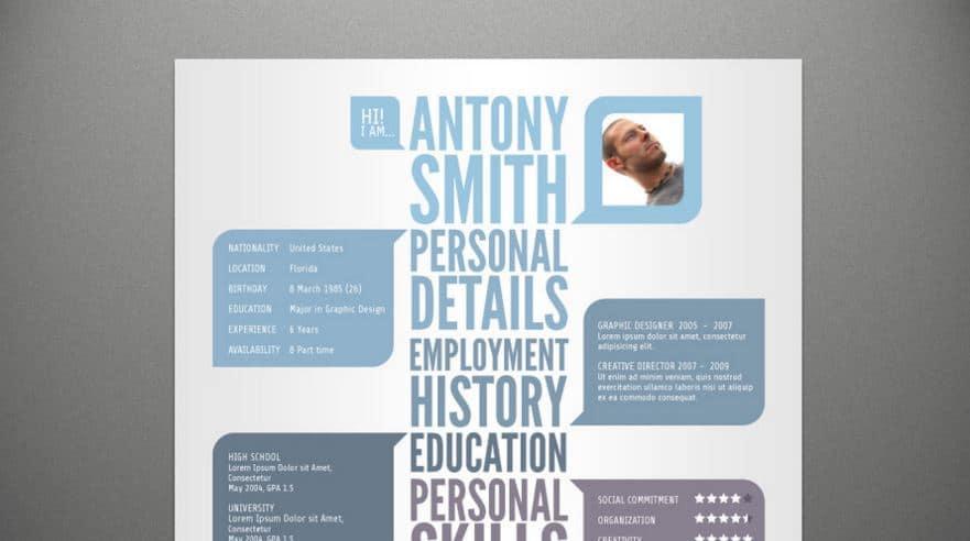 Free CV resume template deviantart pixelden