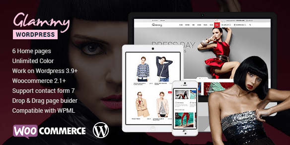 Glamy WordPress Theme