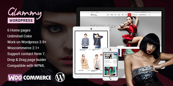 Glamy WordPress Theme