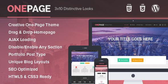 OnePage-mythemeshop wordpress theme