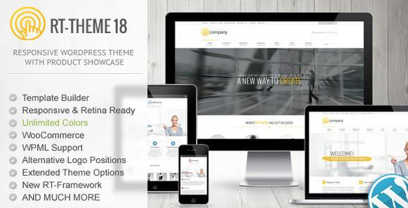 RTTheme 18 Responsive WordPress Theme