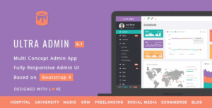 Ultra-Multi-Purpose-Admin-Theme