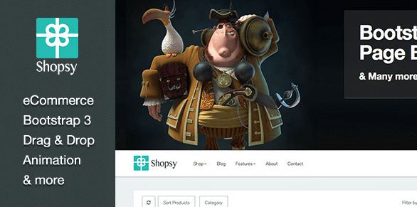 Shopsy WordPress Theme
