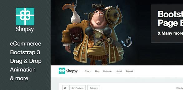 Shopsy WordPress Theme