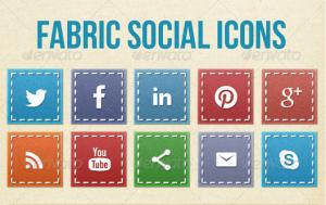Fabric Social Icons