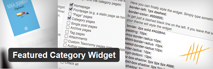 Featured Category Widget