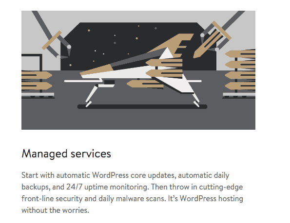 Managed WordPress Hosting Features