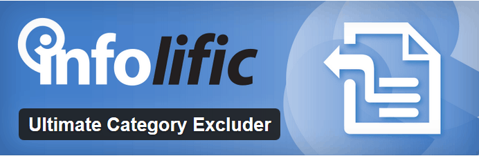 Ultimate Category Excluder plugin