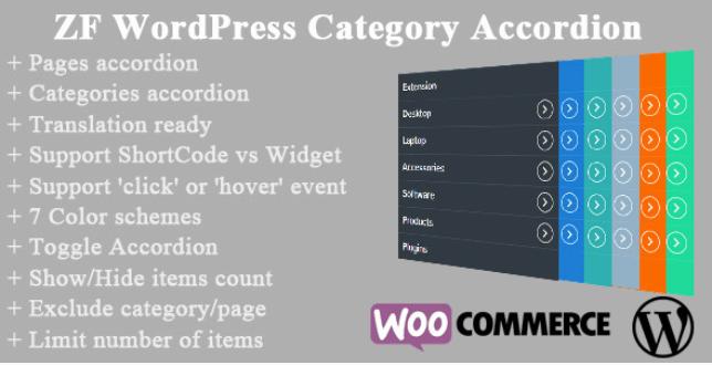 ZF WordPress Category Accordion