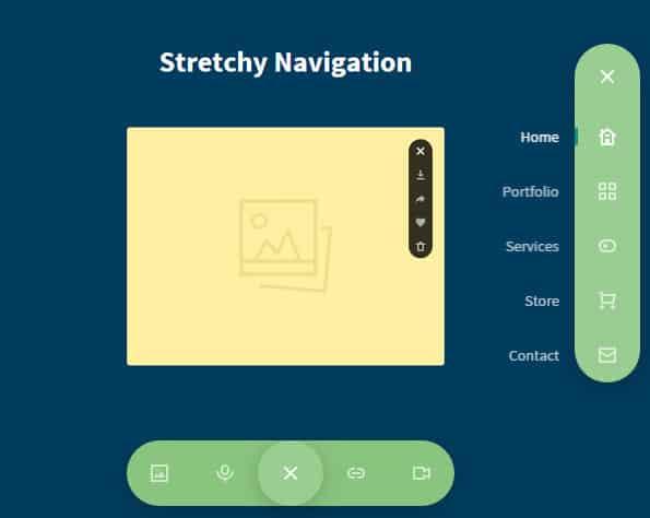 Stretchy-Navigation