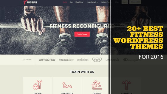 20+ best fitness wordpress themes
