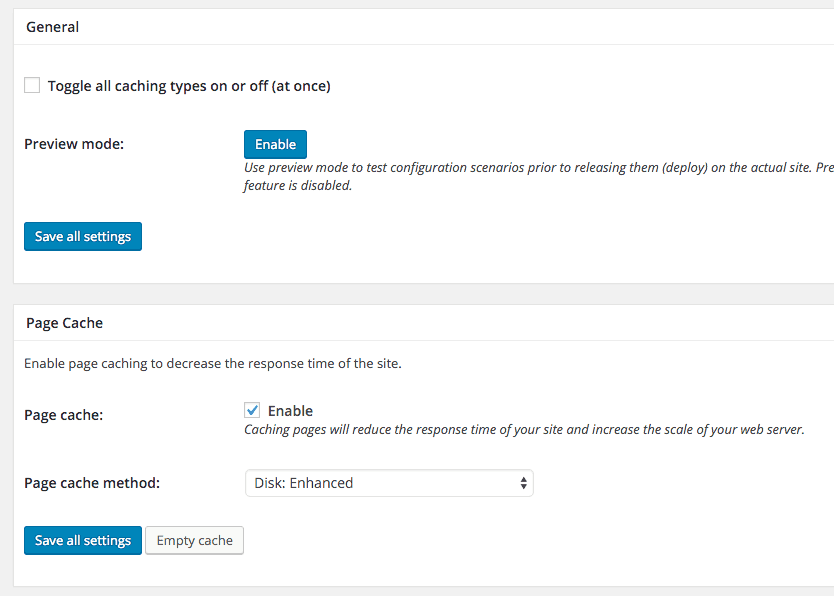 Setup W3 Total Cache and CloudFlare1