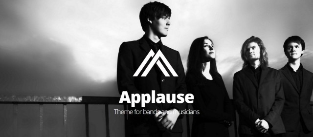 10-Applause -One-Page Responsive Music & DJ WP Theme