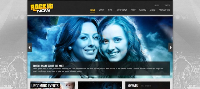 13-Rockit Now - Music Band WordPress Theme