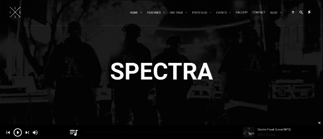 17-Spectra - WordPress Music & Events Theme
