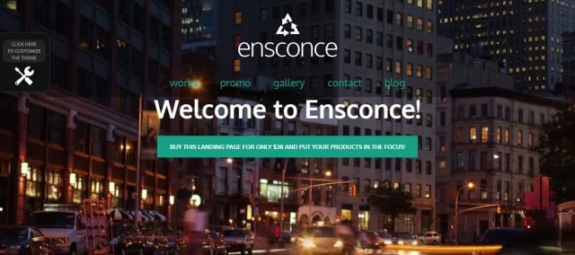 18-Ensconce - Responsive WordPress Video Landing Page