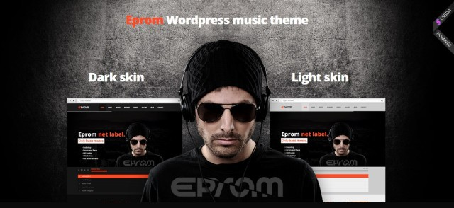 3-Eprom - WordPress Music Band & Musician Theme