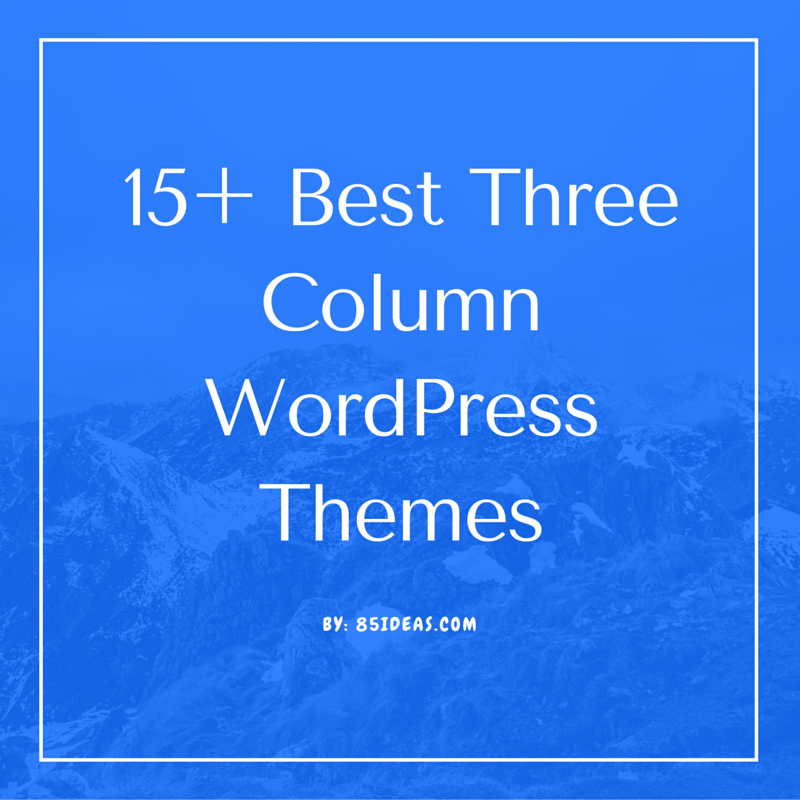 WordPress Column Themes