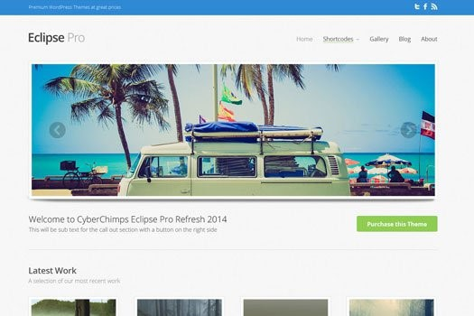 Eclipse Pro WordPress Theme