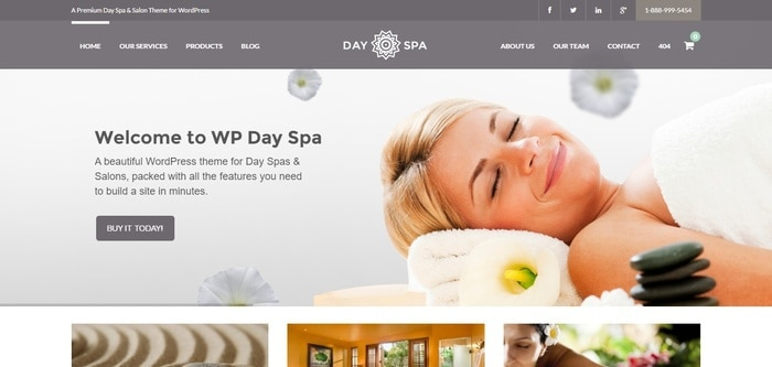 1 wp day spa