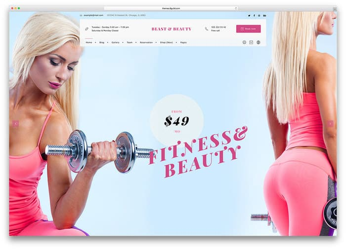 14 bnb-fitness-wordpress-website-template