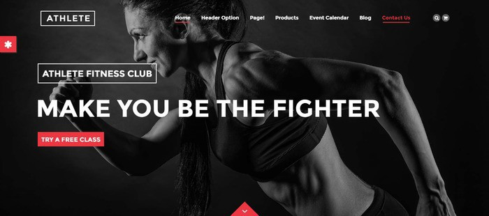 15 Athlete – Just another WordPress theme