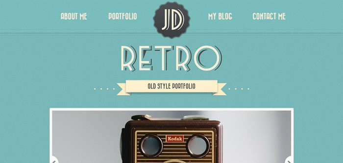 3 retro portfolio