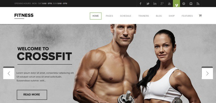 5 Fitness - Gym-Fitness Premium WordPress Theme - Just another The Web Design Factory Sites siteclipular.png