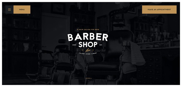 WordPress Themes for Salons and barbershops