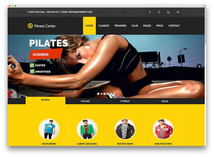 8 fitness-ecommerce-theme