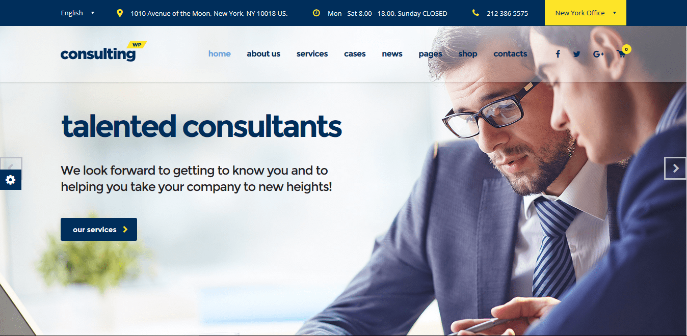 best business consulting wordpress themes
