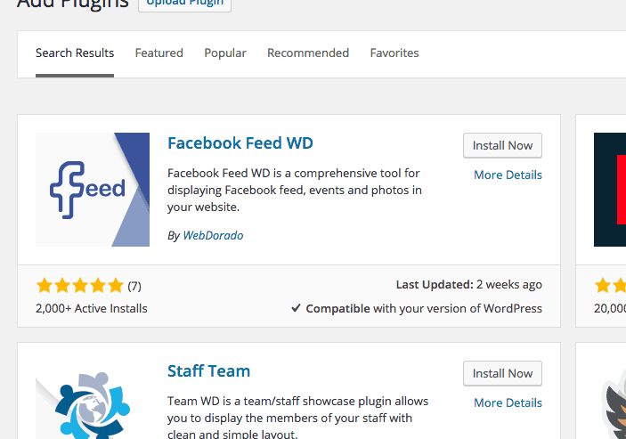 Facebook Feed WD WordPress Plugin Review